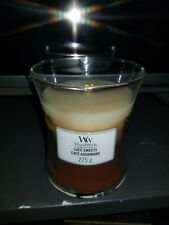 B3G1FREE** trilogy cafe sweets- WoodWick 9.5oz Medium Jar Candle CRACKLE