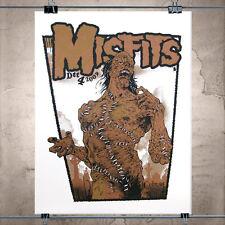 Misfits-Frankenstein-SilkScreen-Gig-Poster-Classic-Monsters-Danzig-Samhain