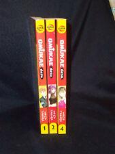 Omukae Desu GN Lot Volume 1 2 4 Meca Tanaka CMX English B/W Manga