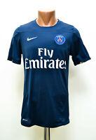 PSG PARIS SAINT GERMAIN 2010`S TRAINING FOOTBALL SHIRT JERSEY NIKE SIZE S ADULT