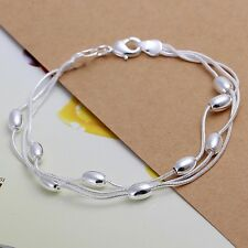 silver bracelet jewelry cute 925 trend women Bead Bracelet lady Gift hot sale