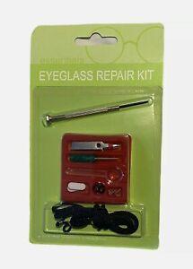 Spectacle/Optical/Sun Glasses Repair Kit Eye Glasses Repair Kit Screws Nose Pads