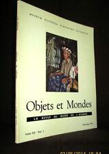 OBJETS & MONDES Musée Homme Kat Drogue Yemen Chamanisme Borneo Poterie Algerie !
