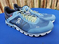 Men's ON CLOUD Cloudflow in Blue Lake Fern Running Shoes Cloudtec Sz 11