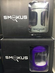 Smokus Focus Purple & Gray  LED Magnifying Pocket Display Container Jars NEW