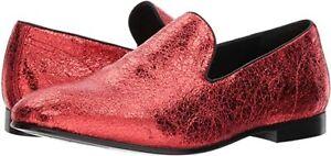 MENS Aldo  Wuldric Leather  Metallic Sparkling Glitter Tuxedo Smoking Shoe sz 8