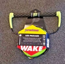 PROLINE LGS WAKEBOARDING ROPE & HANDLE PACKAGE 75 FT. LENGTH (YELLOW)