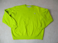 VINTAGE Champion Sweater Adult Extra Large Green Gray Crewneck Pull Over Men 90s