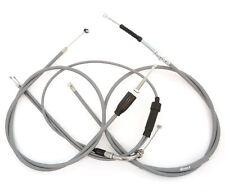 Grey Control Cable Set - Honda CB175 - 1969-1973 Clutch Brake Throttle Cables