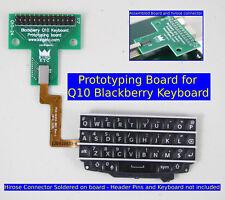 Q10 keyboard prototyping board assembled