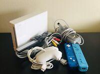 Nintendo Wii Bundle (RVL-001) - GameCube Compatible - Great Deal!