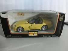 1:24 Maisto 51015  Dodge Viper RT/10 1995 gelb (Sch1/2)
