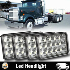 For International 9300 9300 Truck Series 4''x6'' LED Sealed Headlights Hi/Lo 4x