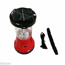 16 LED Solar Rechargeable Lantern 799 (Red)