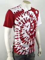 True Religion Brand Jeans Men's Split Tie Dye Logo Tee Shirt Top - 101802