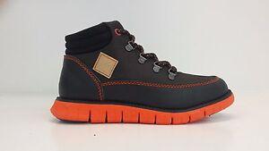 Cole Haan Kids ZeroGrand Hiker Boots Choc 220077 Sizes 13 - 6.5 BRAND NEW IN BOX