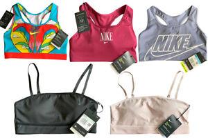 NIKE AIR Womens Sports Bra Padded Gym Fitness Yoga Running Shape Plus sizes