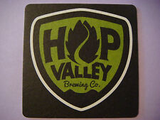 Beer Bar COASTER ~^~ Hop Valley Brewing Company ~ Springfield, OREGON Since 2009