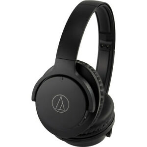 Audio-Technica ANC500BTBK QuietPoint Headphones Black - Certified Refurbished
