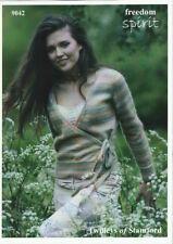 "Twilleys Knitting Pattern 9042 Ladies Wrap Tie Cardigan 32-42"" DK Freedom Spirit"