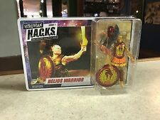 2017 Boss Fight Studios Vitruvian HACKS 1:18 Figure MOC - HELIOS WARRIOR MALE