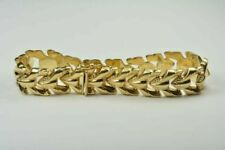 Link Bracelet 14k Yellow Gold 7.25 Length