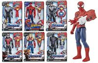 Avengers Marvel Endgame Titan Hero Power Fx Iroman Spiderman Captain America 4+