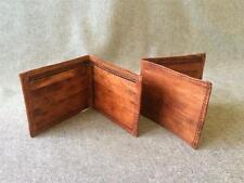 Handmade Goat Leather Wallet WMC Men Cash Card Bifold Billy Goat Designs