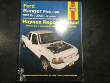 1993-2005 Ford Ranger Truck Haynes Repair Manual Mazda B2300 B2500 B3000 B4000