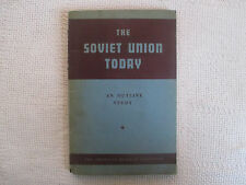 1943 The Soviet Union Today American Russian Institute ABCO press hardcover VG+