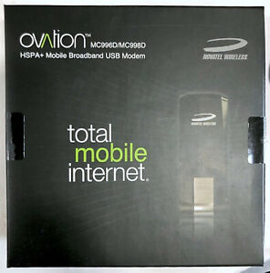 NEW Novatel Ovation MC996D/MC998D HSPA+ Mobile Broadband USB Modem Hot Spot