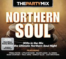 PARTY MIX NORTHERN SOUL 3 CD (LAURA GREENE, FREDA PAYNE, THE VIBRATIONS,..) NEUF