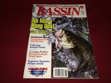 May/June 1994 Bassin' Bass Fishing Magazine~Antique Tackle, Casting, Lures, +