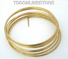 Dead Soft 10 GA Brass Crafters and Jewelry Makers Wire 10 Feet