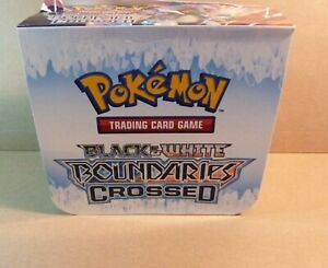 Pokemon Booster Box (1)(EMPTY)(B&W Boundaries Crossed)