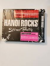 hanoi rocks street poetry japanese issue in box with still sealed bandana in shr