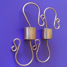 ***TWO*** Copper Hummingbird Feeder hangers,  Ant Stop, Trap, Guard, Moat