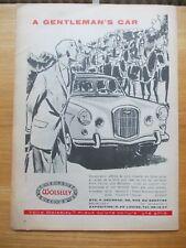 PUBLICITE WOLSELEY GARAGE DECROSE BRUXELLES 4 1963