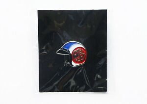 PRETTY GREEN SCOOTER HELMET  PIN BADGE  **NEW & SEALED**