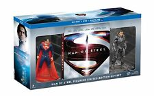 Blu-Ray + DVD + Ultraviolet HD - MAN OF STEEL - Figurine Limited Edition Giftset