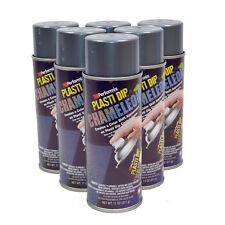 Plasti Dip CHAMELEON SILVER & TURQUOISE case of 6 spray cans 11oz