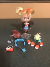 Littlest Pet Shop Blythe B13 Sightseeing Cute London Doll Lizard & Accessories