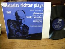 SVIATOSLAV RICHTER Plays GLAZOUNOV/RINSKY-KORSAKOV/PROKOFIEV LP MIRO MLP-8002