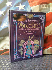 NEW SEALED Alice in Wonderland & Through Looking Glass Bonded Leather Carroll
