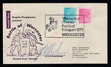 1971 GREAT BRITAIN rocket mail - Doc's Lo-Po - Battle of Worcester - EZ 135D6