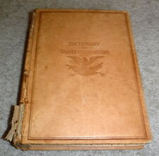 Dictionary Of United States History, 1492-1898 by J. Franklin Jameson - box 21