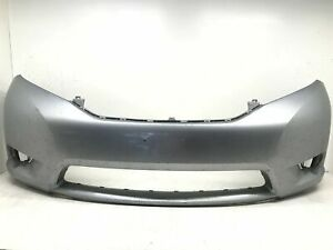 Front Bumper Cover Toyota Sienna L Base Limited LE XLE 2011-2017 OEM2