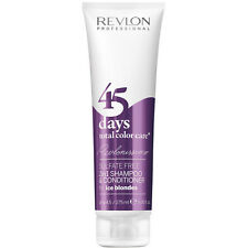Revlon 45 Days Sulfate Free 2in1 Shampoo & Conditioner 275ML Ice Blondes