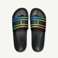 Bnew Tommy Hilfiger Pride Collection Pool Women's Slides Sandals, Size 9