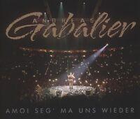 ANDREAS GABALIER - AMOI SEG' MA UNS WIEDER (2-TRACK)  CD SINGLE NEU